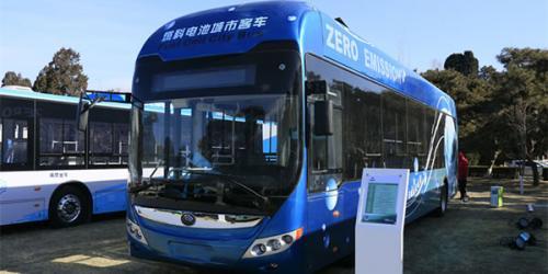 氢燃料电池公交车