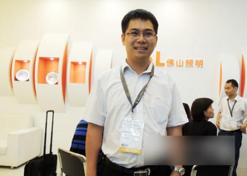 陈文基:LED照明更节能长寿 在国内有价格优势
