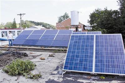 信阳第一家居民用分布式光伏电源成功并网