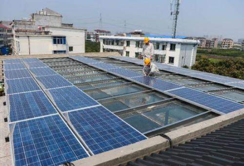 兰溪再增家庭屋顶微型光伏发电站