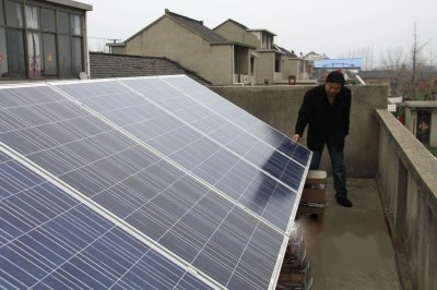 扬州江都区再增家庭光伏电站