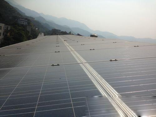闽清县首座家庭光伏太阳能发电站并网