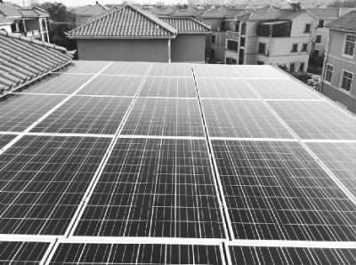 张家界首个居民分布式光伏发电项目并网成功