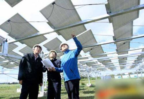 亿利资源集团在张北县建设光伏扶贫项目