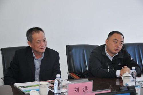 上海质检院电家所所长刘洪一行莅临易事特调研考察新能源业务
