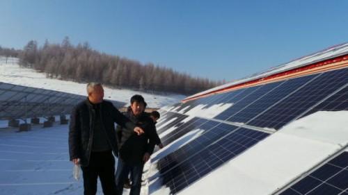 哈尔滨市延寿县建光伏发电项目帮扶贫困户致富