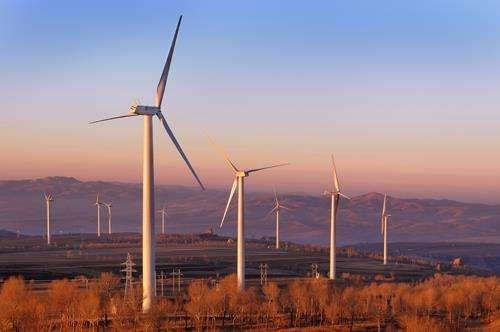 2020年风电可与燃煤发电同平台竞争