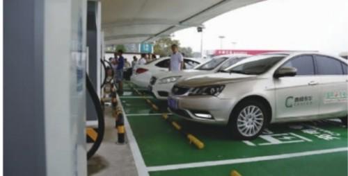高速路上电动汽车将不再为充电发愁