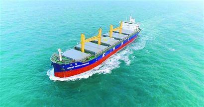 全球首艘通过船级社认证的智能船舶在沪发布