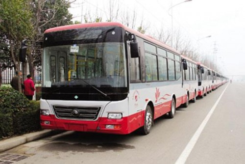 到2020年许昌新能源公交占比70%以上