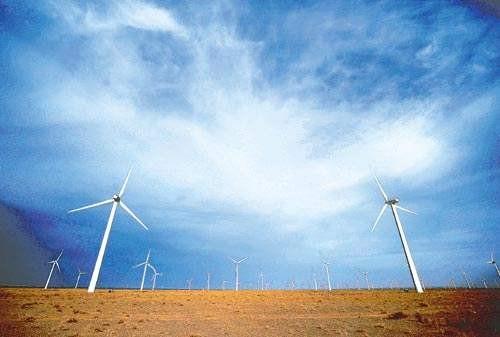 黑龙江风电年发电突破100亿度