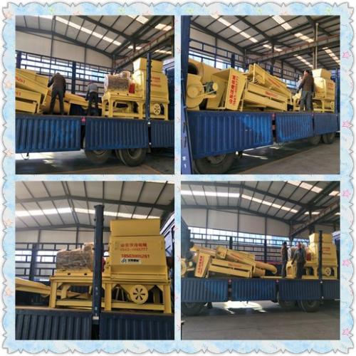 山东汉隆机械--1月10日650-1300粉碎机发货