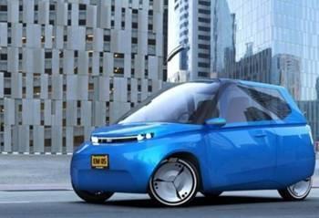 荷兰科学家开发新款环保电动汽车