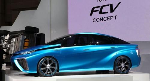 丰田开建新燃料电池堆