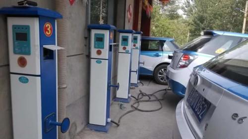 北京公用充电桩调查