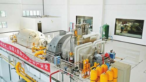 国内首台再热垃圾发电汽轮机投运
