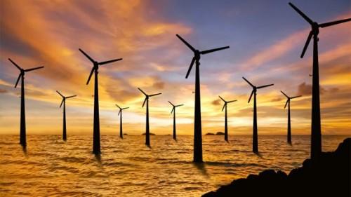 2017年全球海上风电呈现壮丽景象