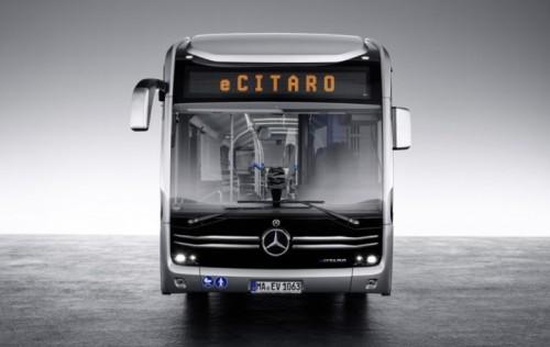 梅赛德斯-奔驰eCitaro电动公交车专为未来城市设计