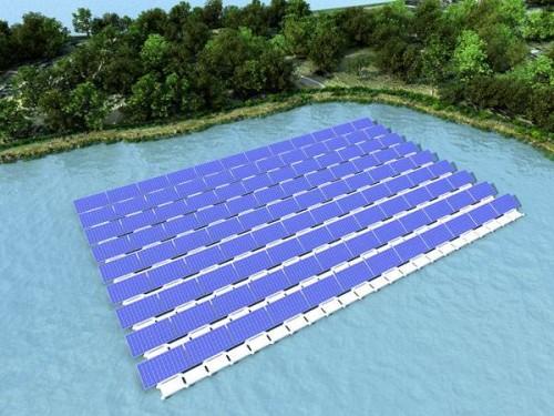 第二批水面光伏领跑者项目多为漂浮式电站