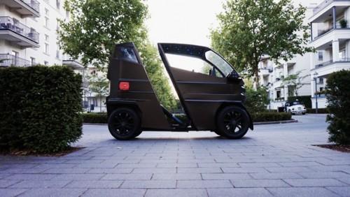微型电动汽车iEV X车身加长后可以搭载更多乘客