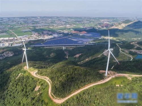 浙江长兴弁山风力发电场累计发电近1.5亿度