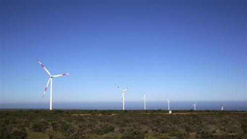 中国在智利投资建设的首个风电场投入使用