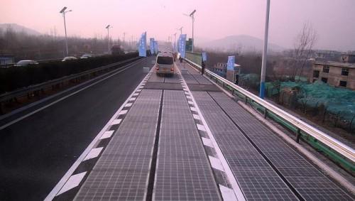 济南建第二条光伏路面 首条光伏路将拆除部分重装