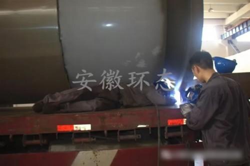 又是整整两车!安徽环态发送生物质颗粒机、烘干机前往江西省吉安市!