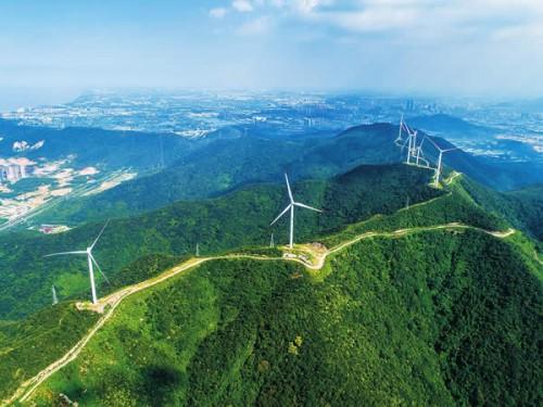 弁山风电场累计发电量1.5亿千瓦时