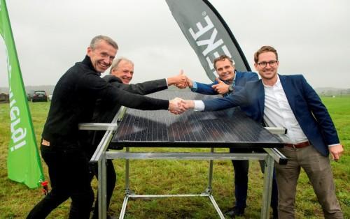 瑞典最大的太阳能电站开始建设