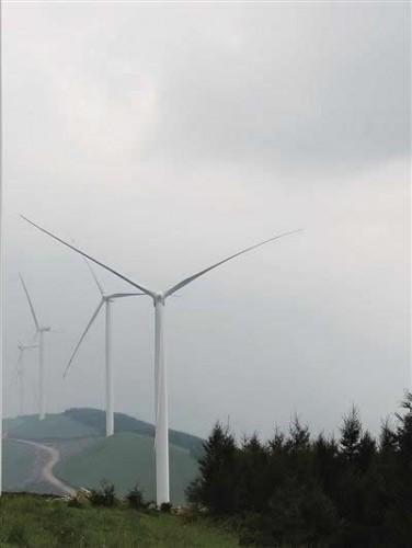 吕梁市加快推进离石区云顶山风电项目