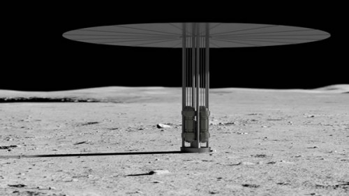 NASA想在月球建立核反应堆 为航天员长期驻留提供电力