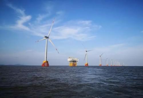国电舟山普陀6号海上风电场2区工程项目累计发电超亿度
