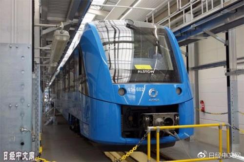 德国加快打造'氢社会' 首次商业运行燃料电池列车