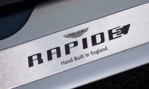 阿斯顿·马丁公布首款全电动Rapide E计划