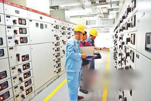 智能电网'电'亮美丽的广东海陵岛