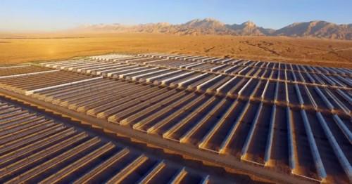 中广核德令哈50兆瓦光热示范项目正式投运