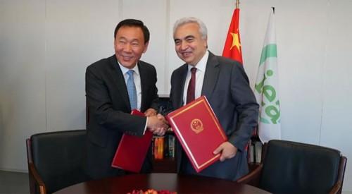 国际能源署与中国国家发改委签署能效合作谅解备忘录