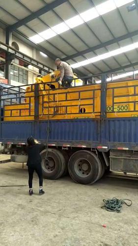 喜报:山东宏鑫机械HX1400-500破碎机发往浙江宁波