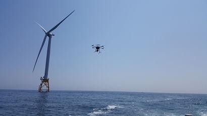 无人机技术改善了对美国海上风电平台的检查