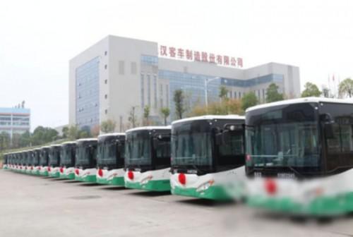 武汉客车35辆-大发时时彩网站-公交亮相