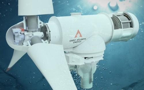 SIMEC亚特兰提斯合资公司提出吉瓦级别的诺曼底潮汐发电计划