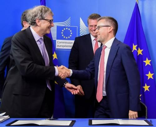 盖茨成立1亿欧元绿色基金:帮欧洲企业开发清洁技术