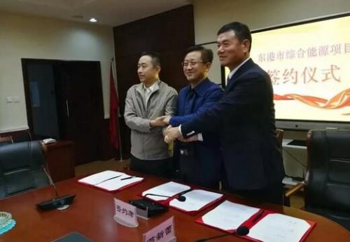 全国最大海上风电项目登陆辽宁东港