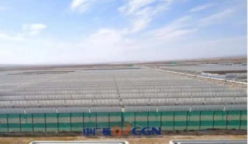 中广核德令哈50MW光热示范项目让中国成了世界光热大国!
