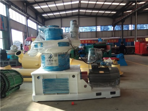 汉隆机械三台颗粒机生产线发货