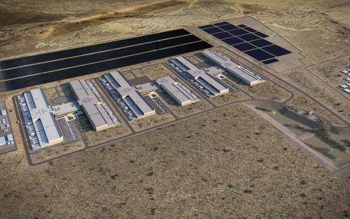新的光伏电站为Facebook新墨西哥州数据中心提供100兆瓦电力
