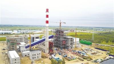 大安安广镇生物质热电联产项目将投产