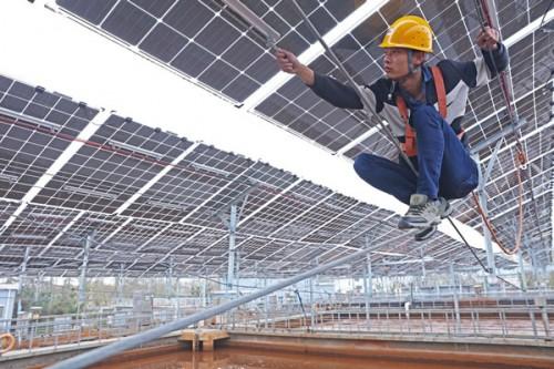 2018年前三季光伏发电新增装机3454万千瓦