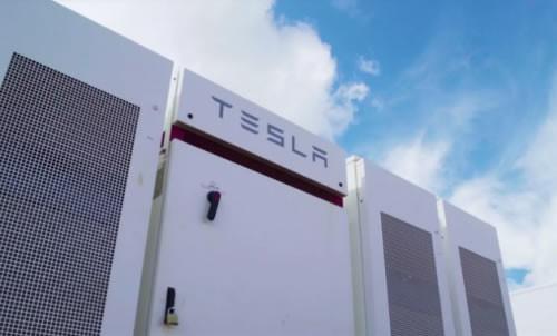 特斯拉为亚马逊配送中心部署储能系统